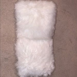 Other - 2 for 30 fuzzy pillows